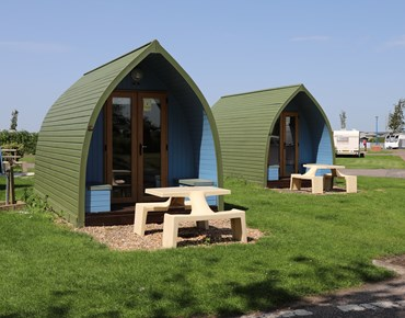 Camping Pods 1
