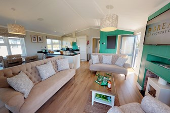 Brean Country Club Luxury Lodges The Countryside 2