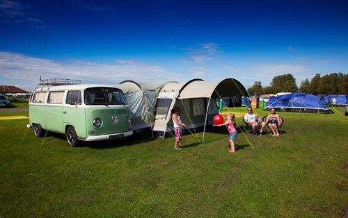 Camping Pitches in Brean